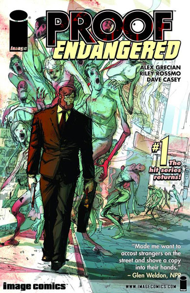 Image: Proof: Endangered #1 - Image Comics