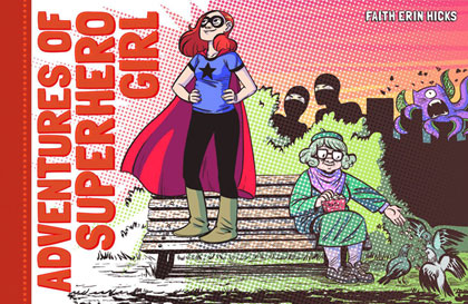 Image: Adventures of Superhero Girl HC  - Dark Horse Comics