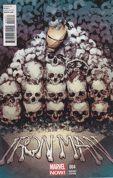 Image: Iron Man #4 (Deodato variant cover) - Marvel Comics