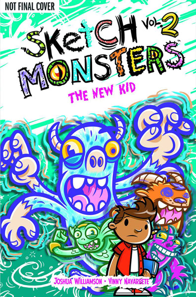 Image: Sketch Monsters Vol. 02: The New Kid HC  - Oni Press Inc.