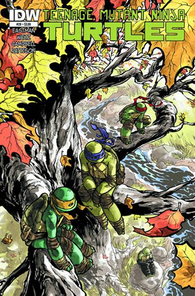 Teenage Mutant Ninja Turtles #29 - IDW Publishing