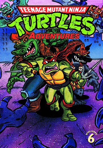 Image: Teenage Mutant Ninja Turtles Adventures Vol. 06 SC  - IDW Publishing