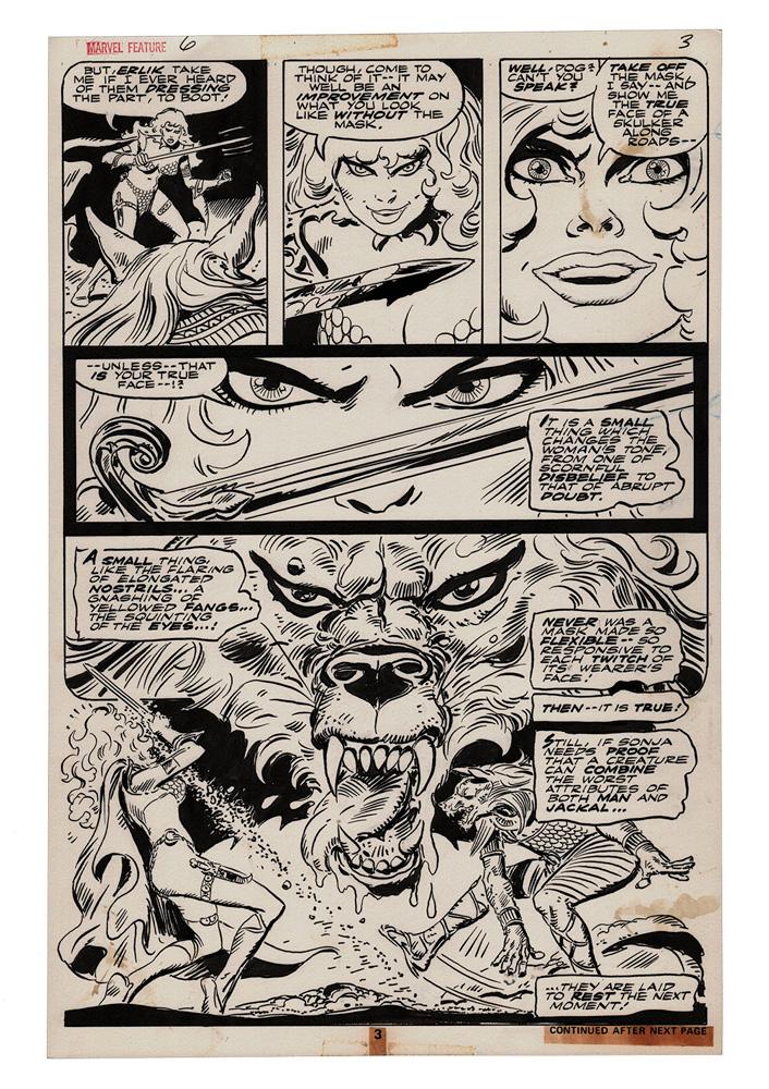 Frank Thorne Red Sonja Art Edition HC  (signed) - Dynamite