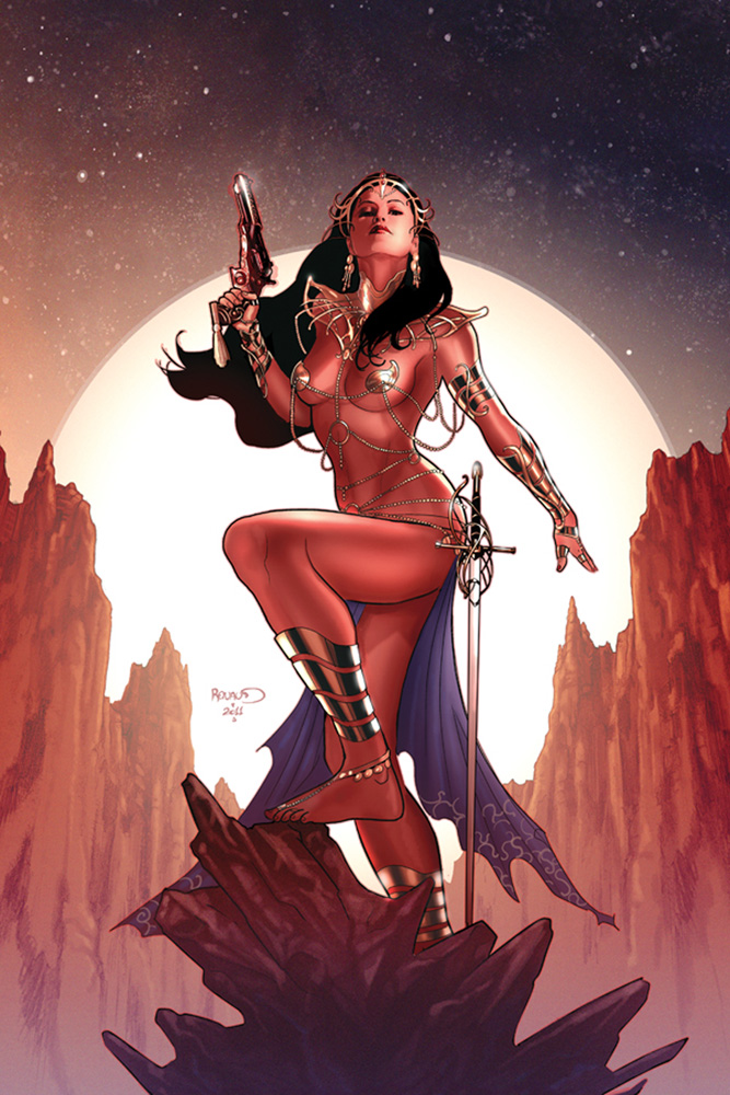 Art of Dejah Thoris and the Worlds of Mars HC  - Dynamite