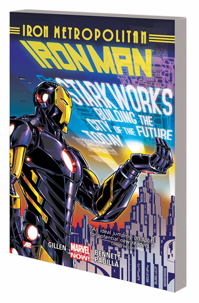Image: Iron Man Vol. 04: Iron Metropolitan SC  - Marvel Comics