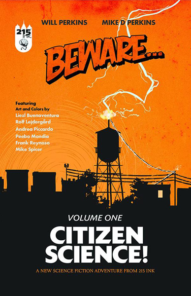 Image: Beware... Vol. 01: Citizen Science! SC  - 215 Ink