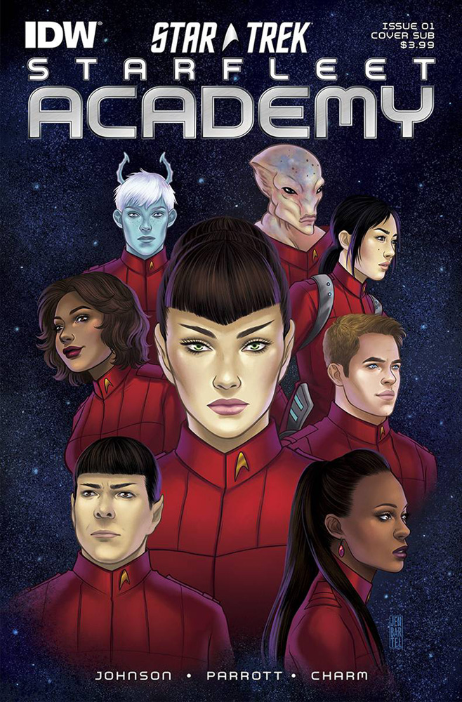 Image: Star Trek: Starfleet Academy #1 (subscription cover) - IDW Publishing