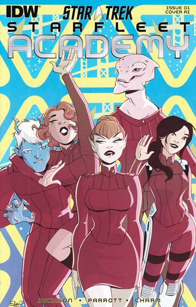 Image: Star Trek: Starfleet Academy #1 (variant incentive cover) (10-copy) - IDW Publishing