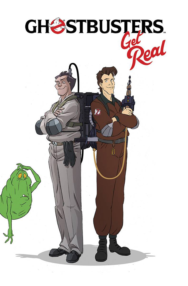 Image: Ghostbusters: Get Real SC  - IDW Publishing