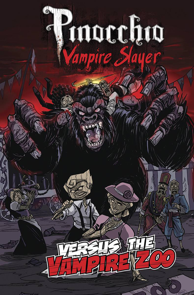 Image: Pinocchio, Vampire Slayer Versus the Vampire Zoo  - IDW - Top Shelf