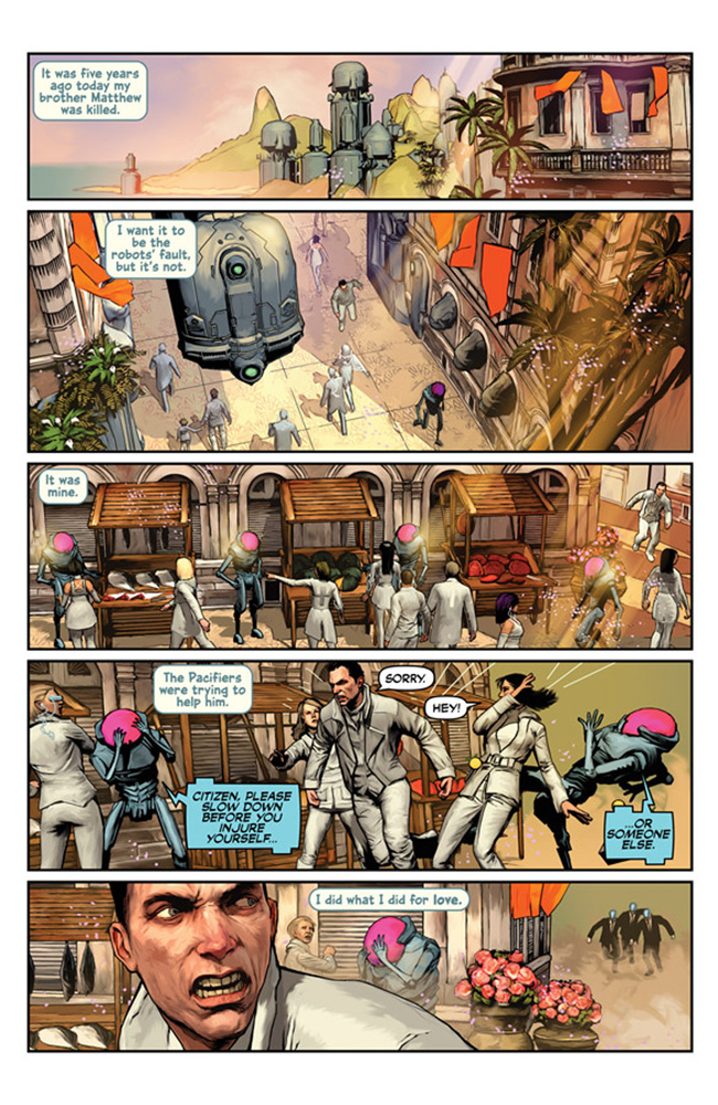 Symmetry #1 (cover A) - Image Comics - Top Cow