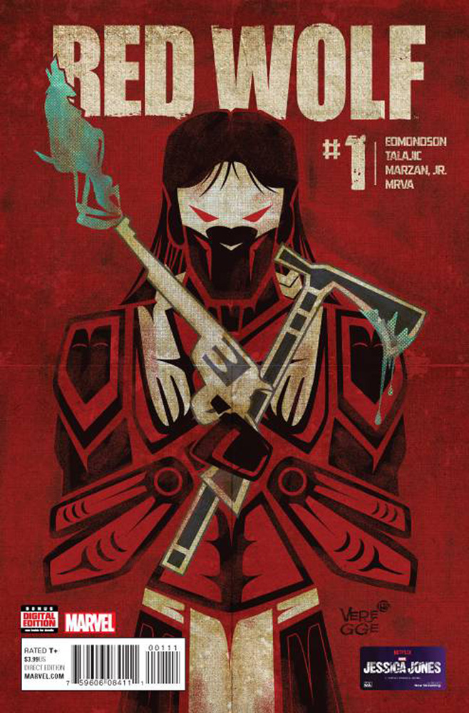 Image: Red Wolf #1 - Marvel Comics
