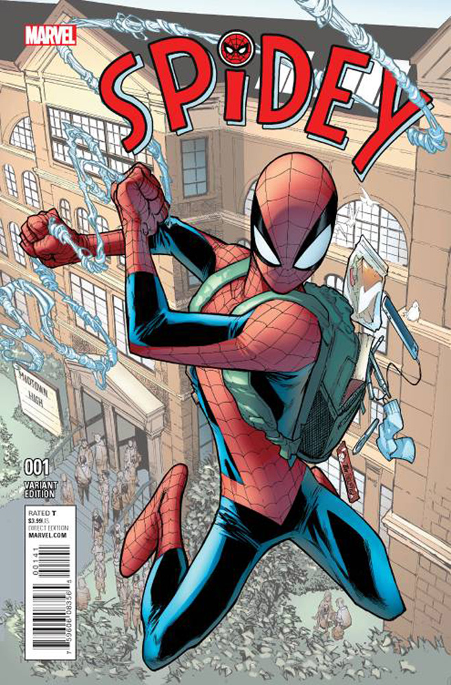 Image: Spidey #1 (variant cover - Ramos) - Marvel Comics