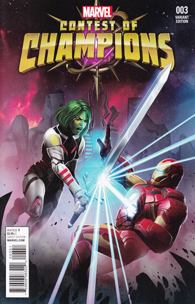 Image: Contest of Champions #3 (Kabam Contest of Champions Game variant cover - 00351) - Marvel Comics