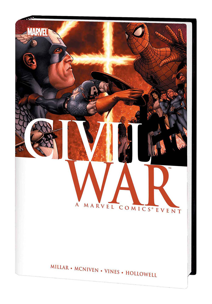 Image: Civil War HC  (McNiven cover) - Marvel Comics