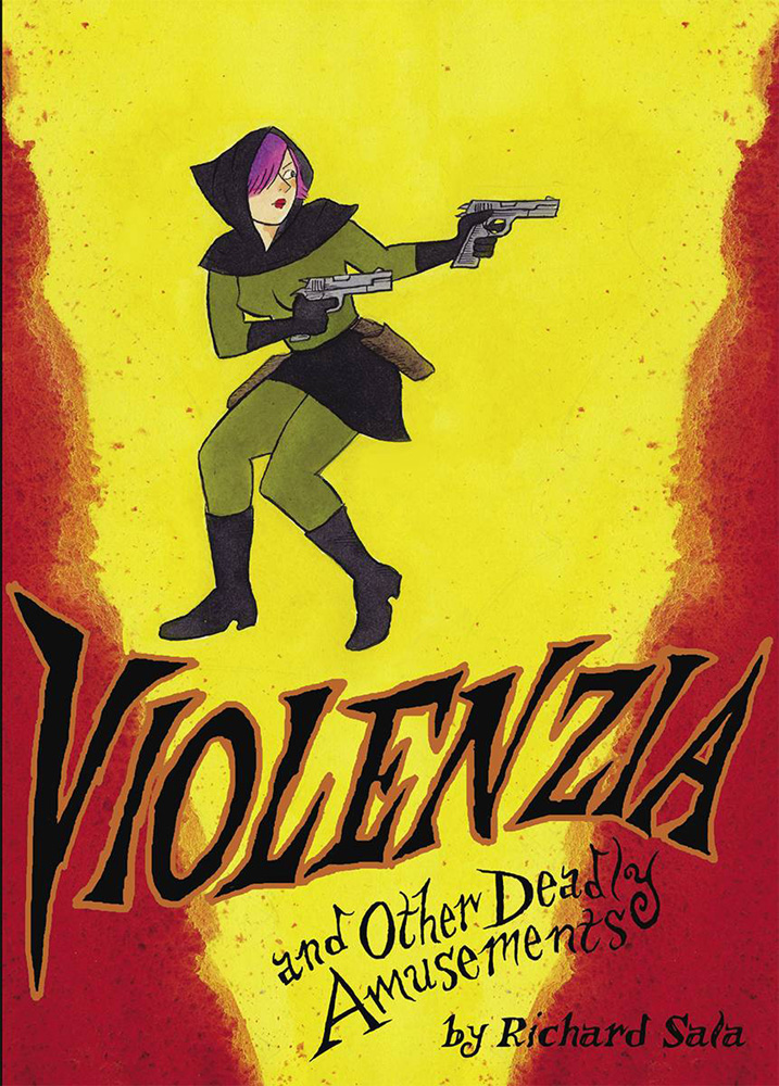 Image: Violenzia and Other Deadly Amusements SC  - Fantagraphics Books