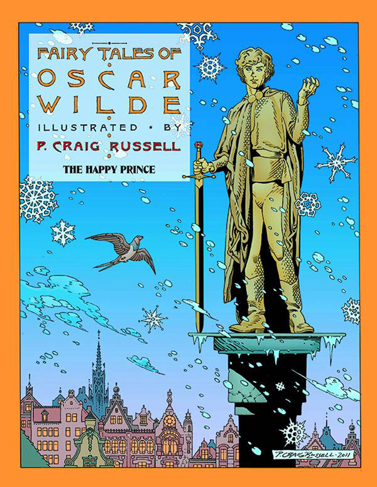 Image: Fairy Tales of Oscar Wilde Vol. 05: The Happy Prince SC  - NBM