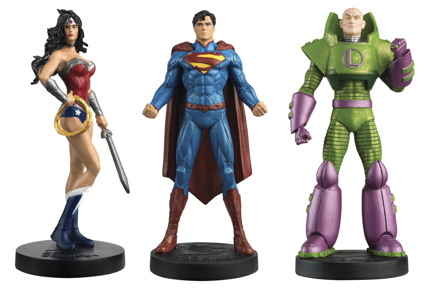 DC Comics Eaglemoss Masterpiece Collection: Justice League - Superman, Wonder Woman & Lex Luthor #3 - Eaglemoss Publications Ltd