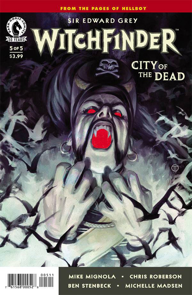 Image: Witchfinder: City of the Dead #5  [2016] - Dark Horse Comics