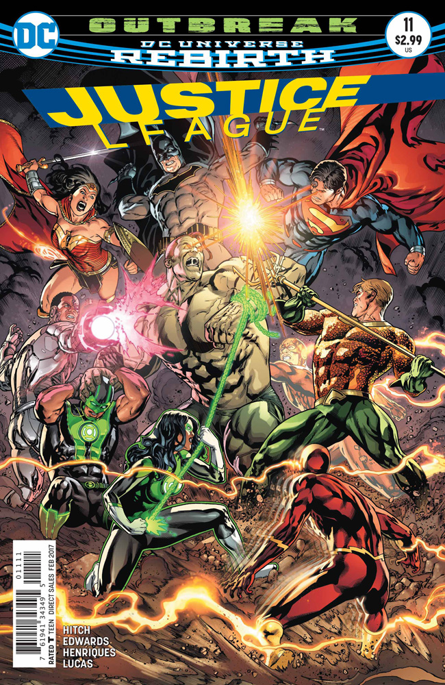 Image: Justice League #11  [2016] - DC Comics