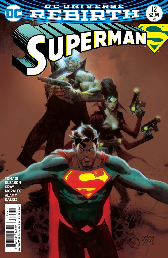 Image: Superman #12 (variant cover - Andrew Robinson)  [2016] - DC Comics