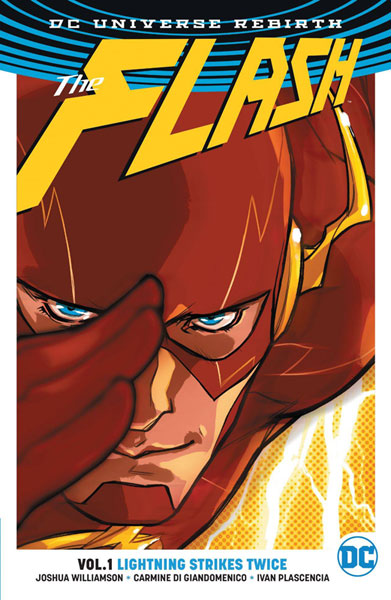 Image: Flash Vol. 01: Lightning Strikes Twice  (Rebirth) SC - DC Comics