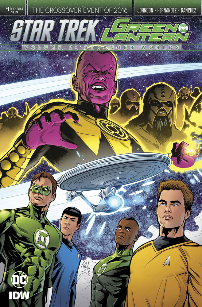 Image: Star Trek / Green Lantern #1 (2016)  [2016] - IDW Publishing