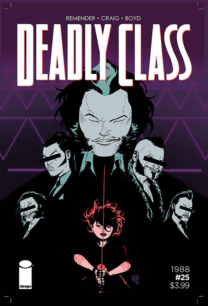 Image: Deadly Class #25  [2016] - Image Comics