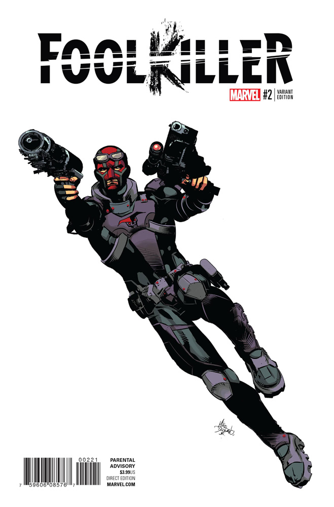 Image: Foolkiller #2 (Deodato variant cover - 00221)  [2016] - Marvel Comics