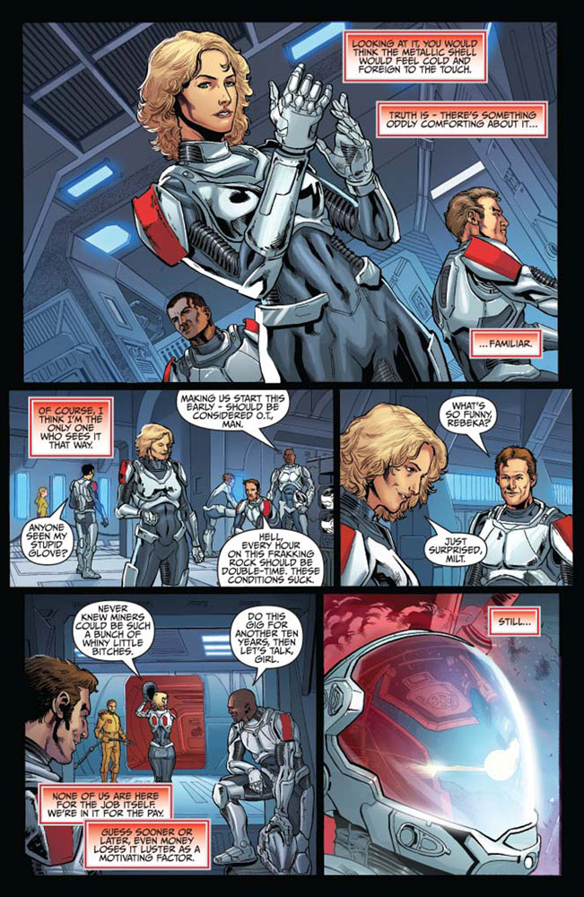 Battlestar Galactica: Six Vol. 01 SC  - Dynamite