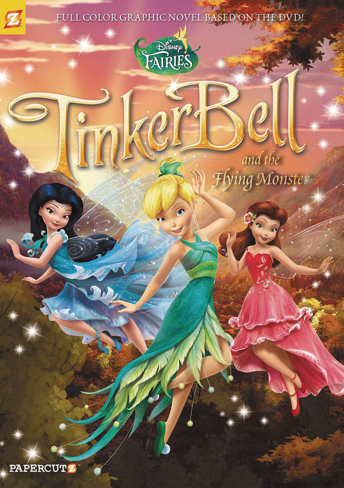 Image: Disney Fairies Vol. 19: Tinker Bell and the Flying Monster SC  - Papercutz