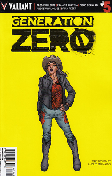 Image: Generation Zero #5 (cover D incentive - Guinaldo) (10-copy)  [2016] - Valiant Entertainment LLC