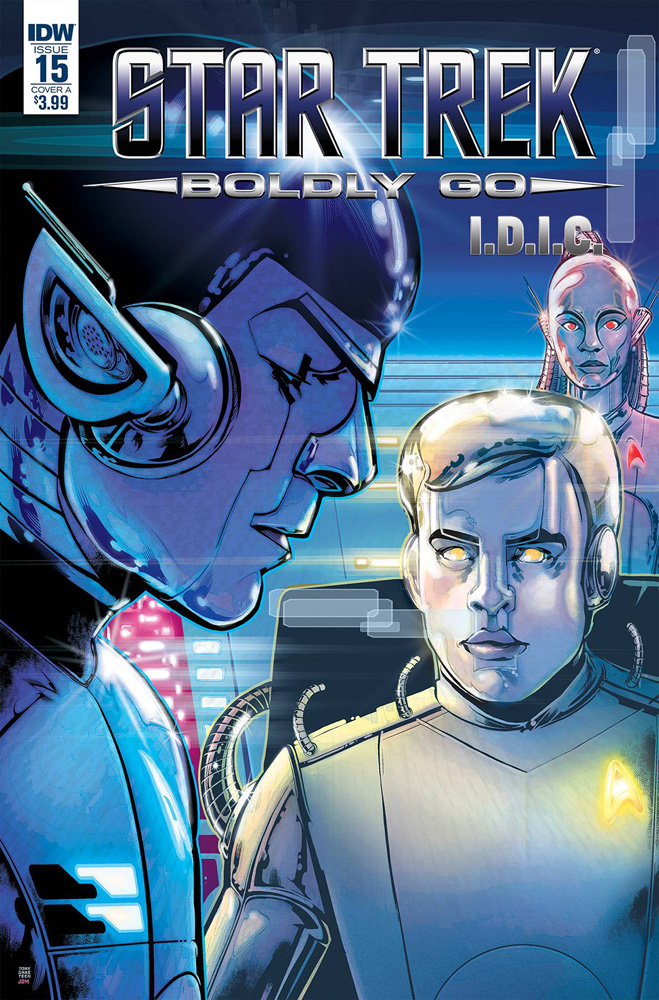 Image: Star Trek: Boldly Go #15 (cover A - Shasteen)  [2017] - IDW Publishing