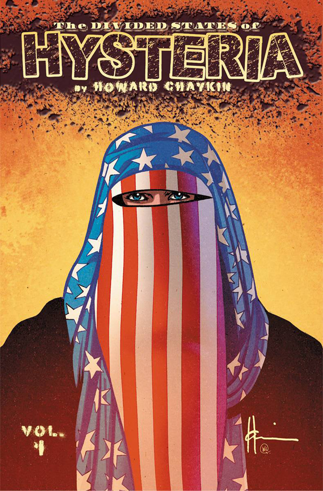 Image: Divided States of Hysteria SC  - Image Comics