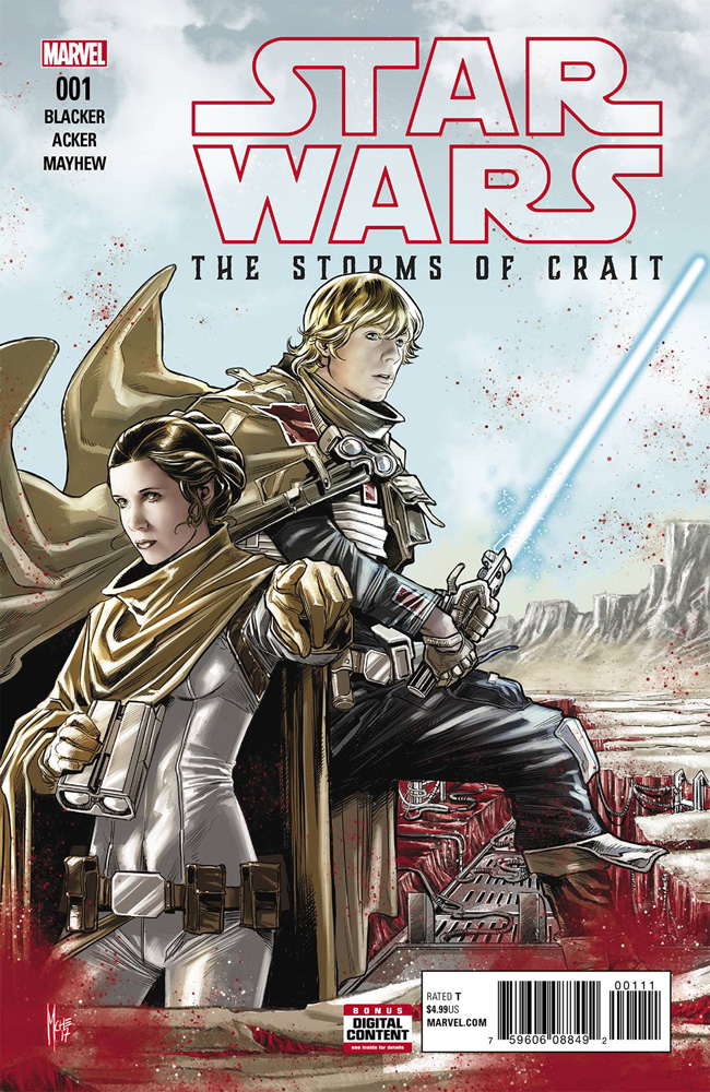 Image: Star Wars: The Last Jedi - The Storms of Crait #1  [2017] - Marvel Comics