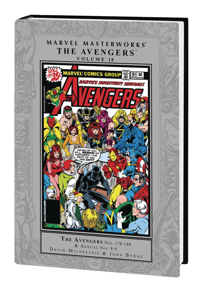 Image: Marvel Masterworks: The Avengers Vol. 18 HC  - Marvel Comics