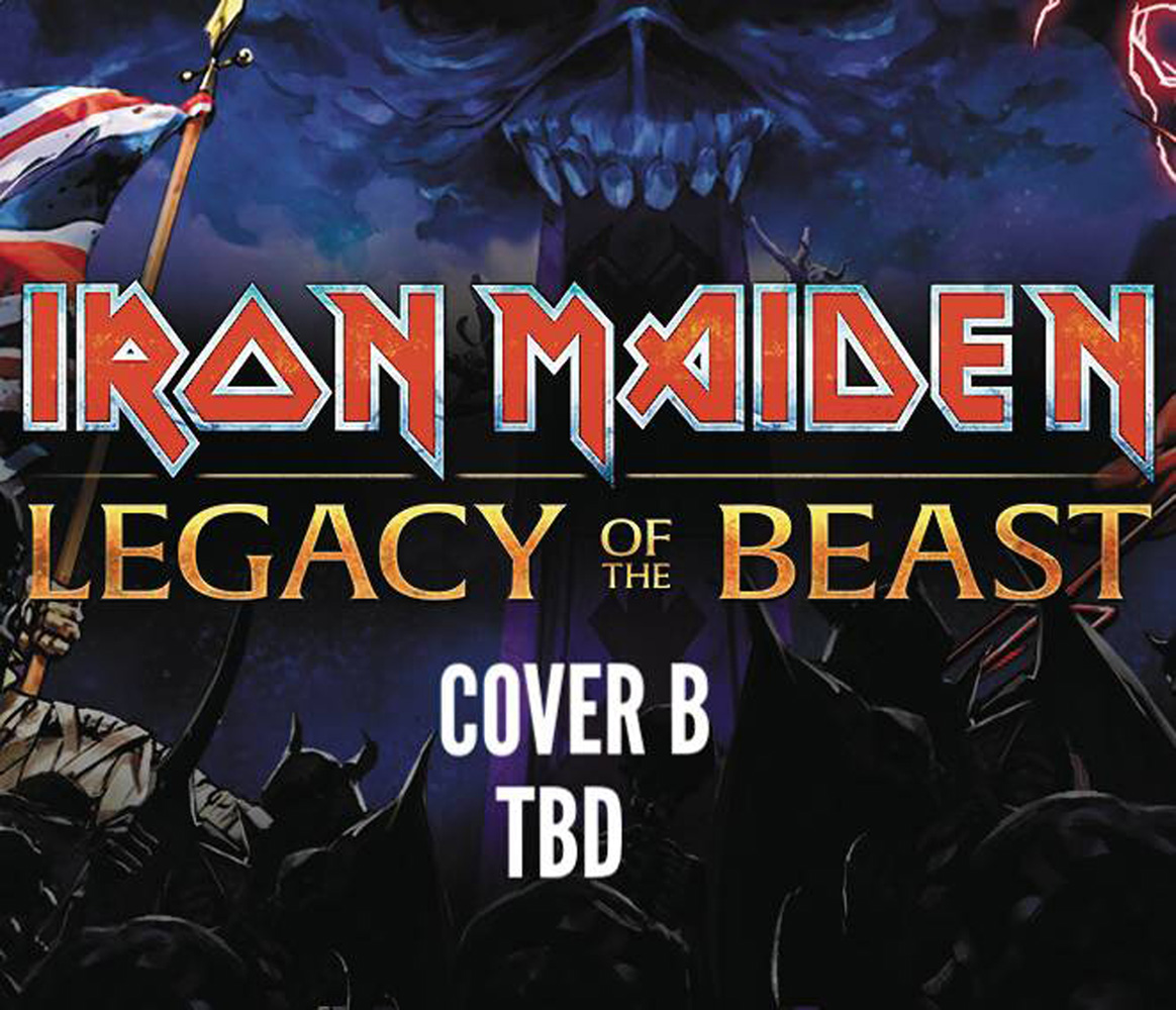 Image: Iron Maiden: Legacy of the Beast #3 (cover B)  [2017] - Heavy Metal Magazine