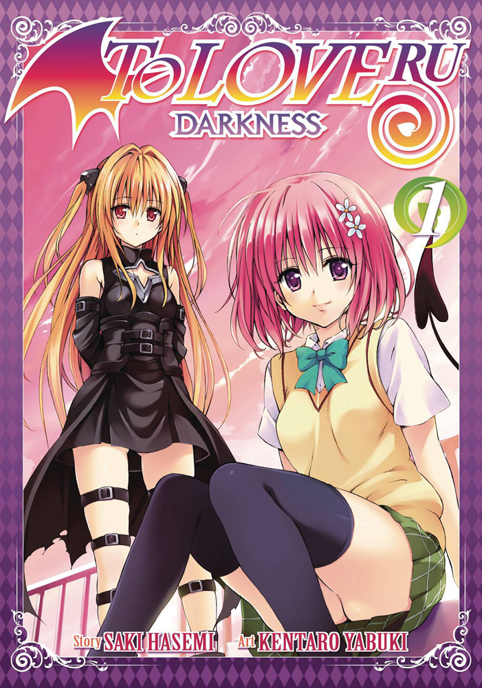Image: To Love-Ru Darkness Vol. 01 SC  - Seven Seas Ghost Ship