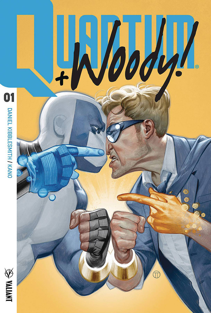 Image: Quantum and Woody [2017] #1 (cover A - Tedesco)  [2017] - Valiant Entertainment LLC