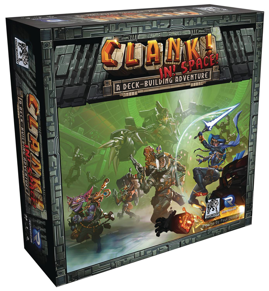 Image: Clank! In Space! Deck-Building Adventure Game  - Renegade Game Studio