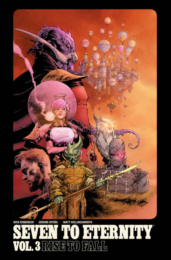 Image: Seven to Eternity Vol. 03: Rise to Fall SC  - Image Comics