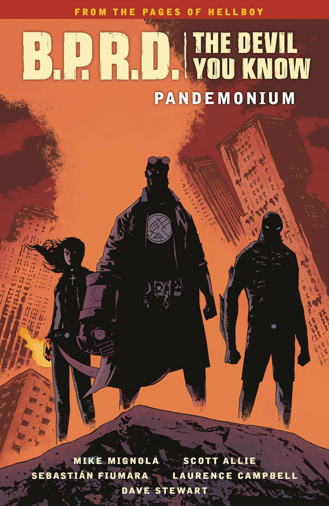 Image: B.P.R.D. The Devil You Know Vol. 02: Pandemonium SC  - Dark Horse Comics