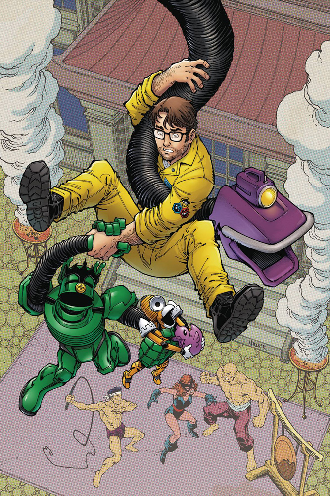 Image: Mystery Science Theater 3000: The Comic #4 (cover A - Nauck) - Dark Horse Comics