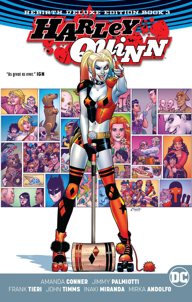 Image: Harley Quinn Rebirth Deluxe Collection Vol. 03 HC  - DC Comics