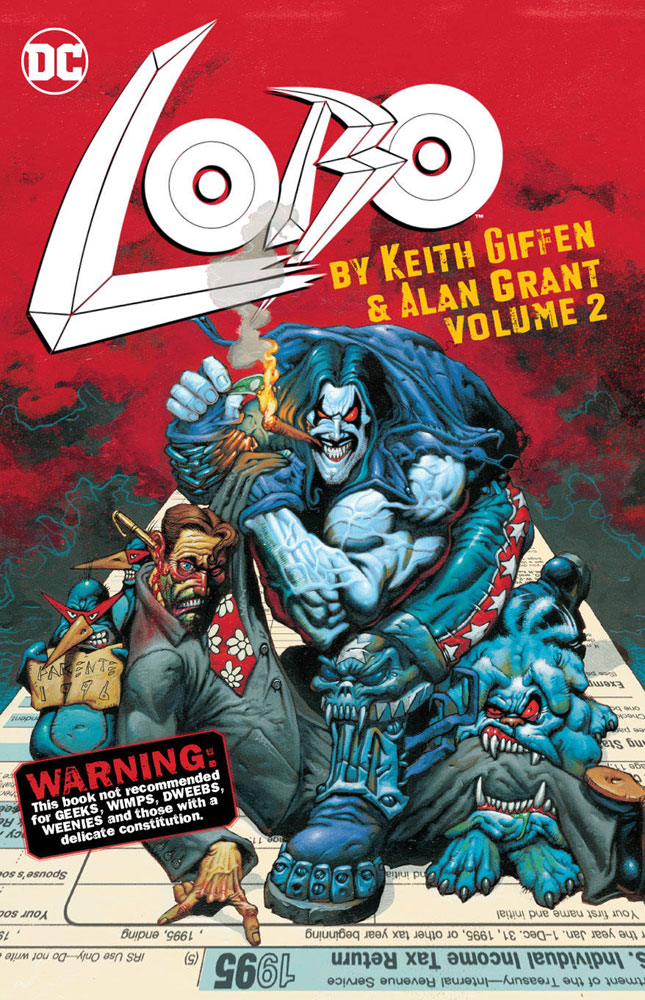 Image: Lobo by Keith Giffen & Alan Grant Vol. 02 SC  - DC Comics