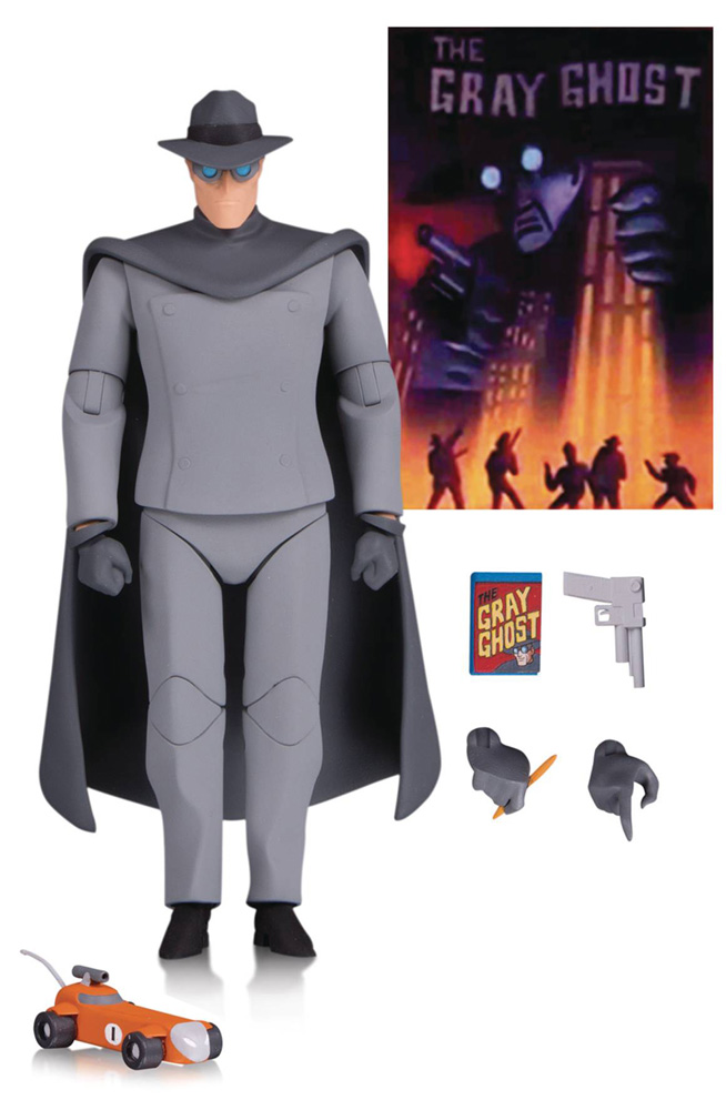 Image: Batman Animated Series Action Figure 042: Gray Ghost  - DC Comics