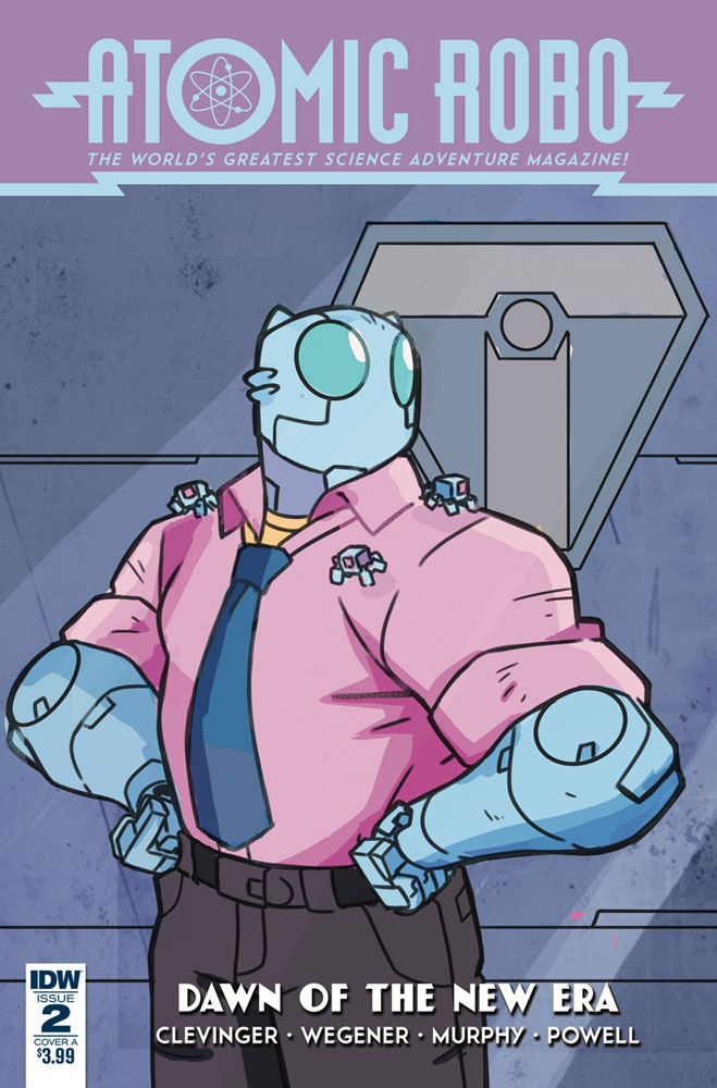 Image: Atomic Robo: The Dawn of a New Era #2 (cover A - Wegener) - IDW Publishing