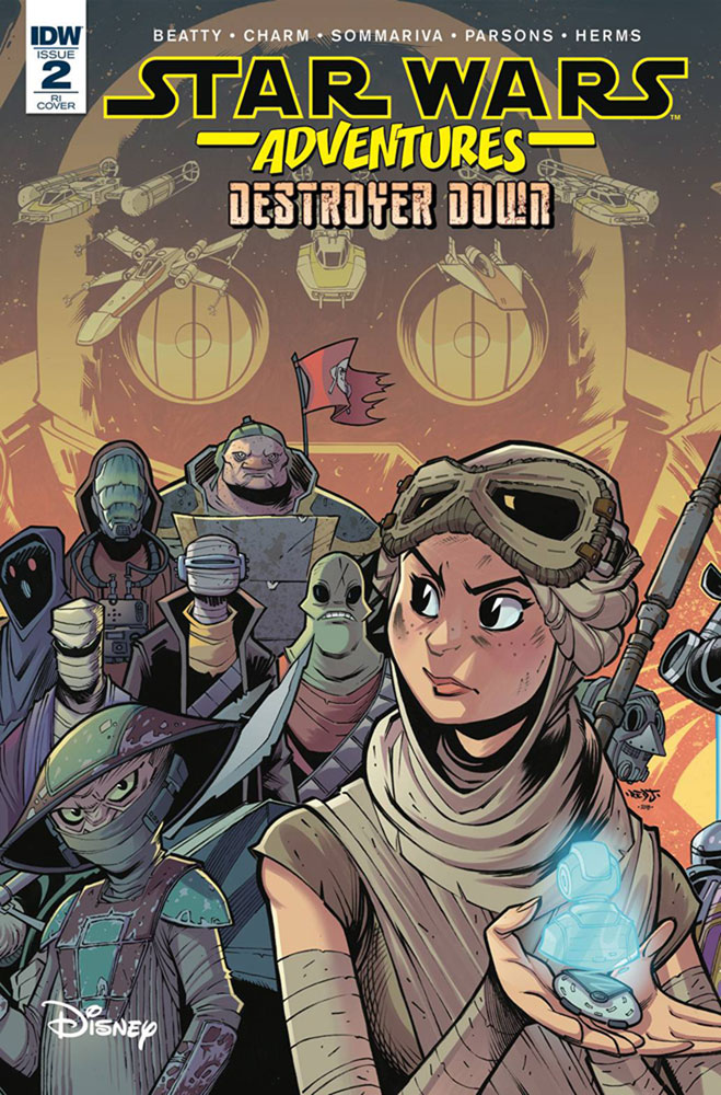 Image: Star Wars Adventures: Destroyer Down #2 (incentive cover - Sommariva) (10-copy)  [2018] - IDW Publishing