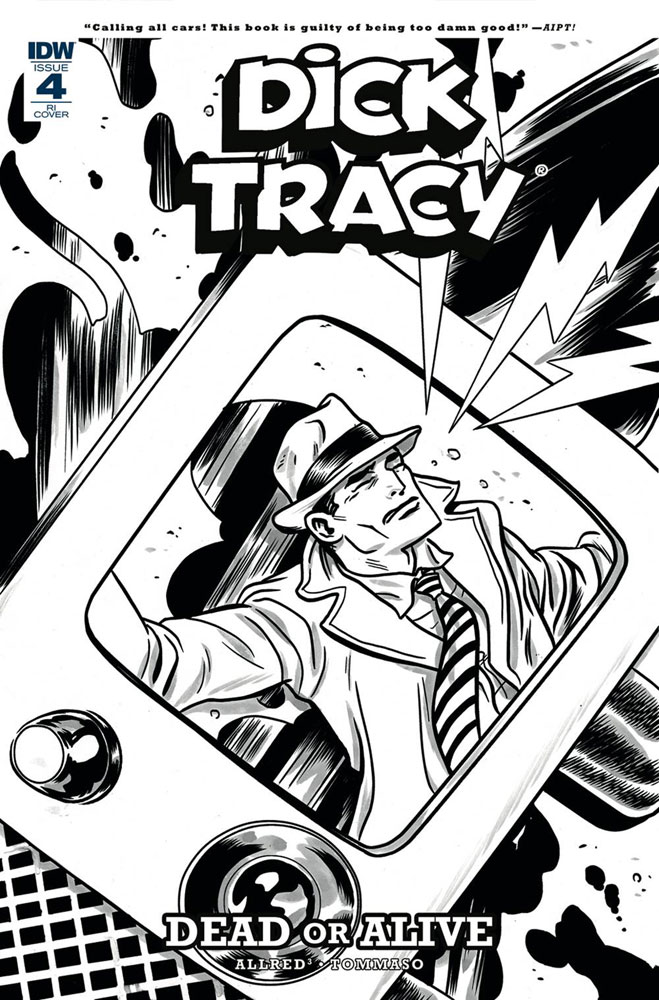 Image: Dick Tracy: Dead or Alive #4 (incentive cover - Allred) (10-copy)  [2018] - IDW Publishing