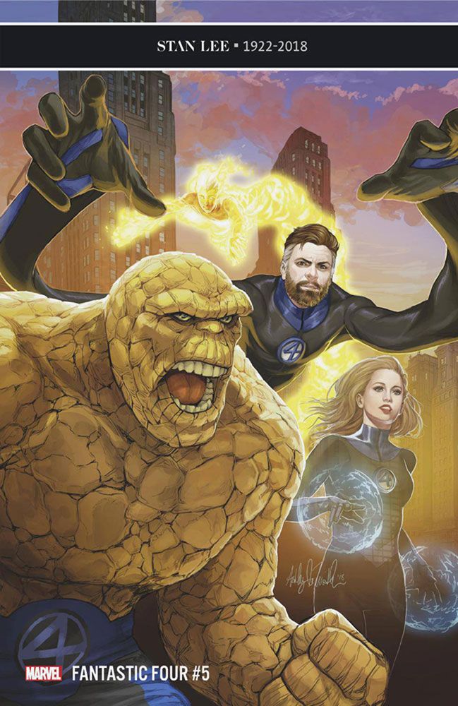 Image: Fantastic Four #5 (variant cover - Witter)  [2018] - Marvel Comics